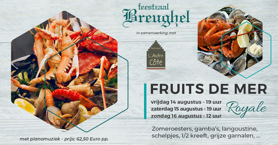 Fruits de Mer 'Royal' - 14-15-16/08/2020